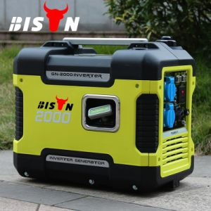 Bison (China) BS-Q1600I Copper Wire Portable Inverter Generator 2000watt pictures & photos