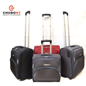 Chubont Four Wheels Nylon Laptop Trolley Case Fot Business pictures & photos