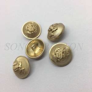 Metal Zinc Alloy Sewing Shank Button for Coat pictures & photos