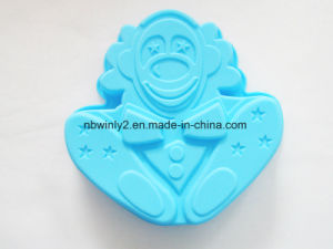 Clown Silicone Cake Mould pictures & photos