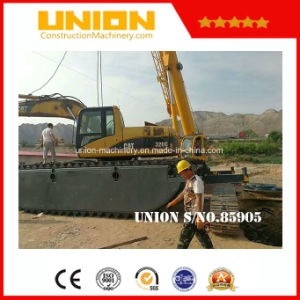 Cat320c Amphibious Excavator with Hydraulic Pontoon pictures & photos