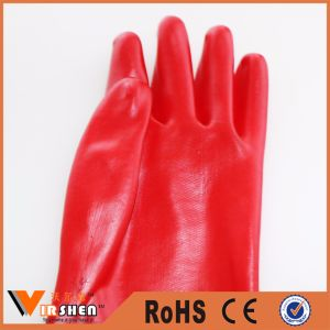 Anti-Oil PVC Coated Safety Gloves pictures & photos