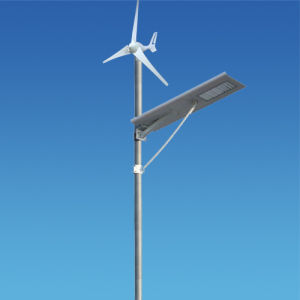 All in One Solar Wind Lithium Battery Street Light System
