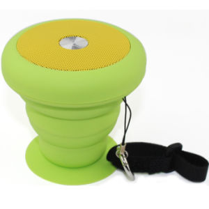 Bluetooth 4.0 Stretch Mushroom Waterproof Speaker Flexable Bluetooth Bath Speaker with Kay Chain pictures & photos