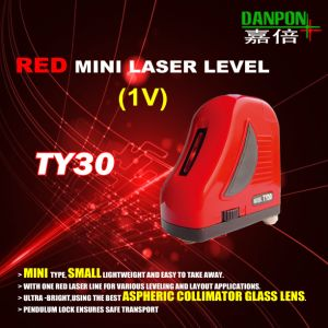 Mini Red One Vertical Laser Line Laser Level Danpon Ty30 pictures & photos
