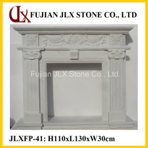 Wholesale Stone Fireplace Mantel pictures & photos
