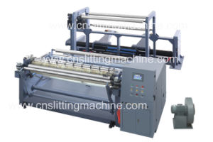 Plastic Film High Speed Slitting and Single Rewinder Machine pictures & photos