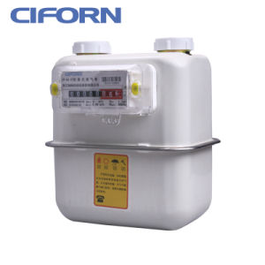 Steel Case Household Diaphragm Gas Meter G1.6-G4 pictures & photos