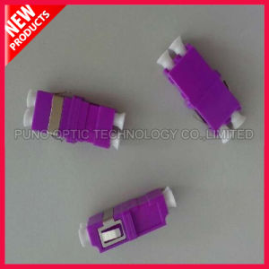 10G Multimode OM4 Duplex SC Type Plastic Fiber Optic Violet Adapter pictures & photos