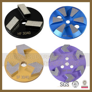 New Design Velcro Diamond Cup Grinding Wheel for Terrazzo Grinding pictures & photos
