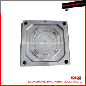 Plastic Injection Lock Lock Round Container Lid Mould pictures & photos