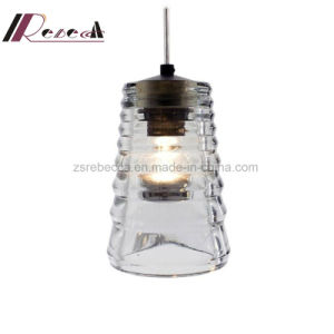 Modern Corrugated Glass Pendant Light for Dining Room pictures & photos