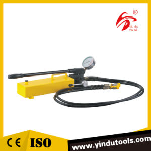 Big Oil Capacity Double Acting Hydraulic Hand Pump (CP-700S) pictures & photos