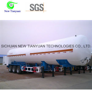 Liquid Natural Gas LNG Storing Equipment Semi Trailer pictures & photos