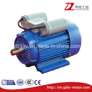 Cast Iron Single Phase Induction Motor with Starting Capacitor pictures & photos