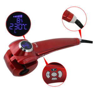 New Arrival LCD Display Automatic Hair Curler pictures & photos