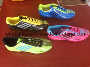 Full Colors Football Shoes China Soccer Shoes Factory (FFSC1118-03) pictures & photos