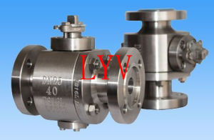 Flanged 2 PC Ball Valve