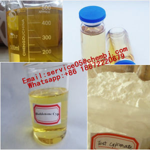 Dark Yellow Musle Gain Steroid Powder Trenbolone Acetate (Finaplix H/Revalor-H) pictures & photos