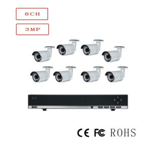 P2p H. 264 Poe NVR Kit 8CH Outdoor 720p IP CCTV Camera pictures & photos