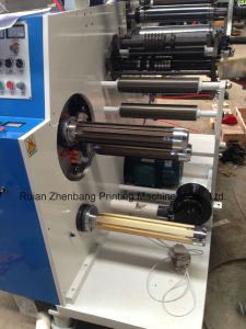 Rotary Die Cutting and Slitting Machine Zb-320 Two Rewinding Shaft pictures & photos