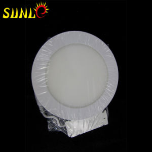 12W Round Flat LED Panel Light Ceiling Panels (SL-MBOO12) pictures & photos