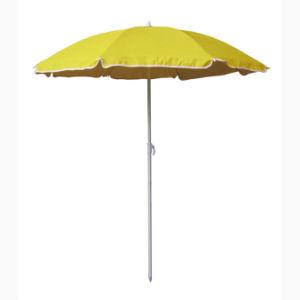 Personal 136cm Beach Umbrella 98% UV Protection Upf50+ Yellow pictures & photos
