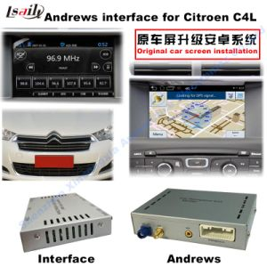 Android GPS Navigation System Video Interface for Citroen C4 (MNR) pictures & photos