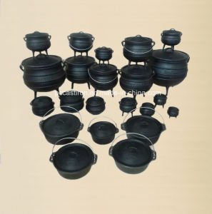 Enamel Cast Iron Cookware Set of Potjie Pot for South Affica Countires pictures & photos