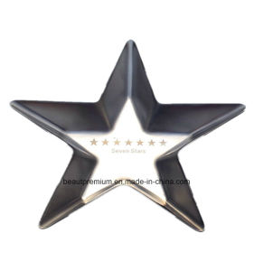 Creative Design Five-Pointed Star Shape Stainless Steel Ashtray BPS0197 pictures & photos