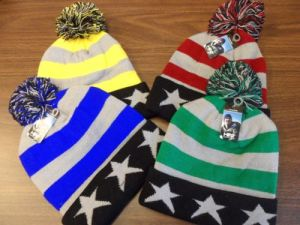 100% Acrylic Beanie Hat with Jacquard Logos (A735) pictures & photos