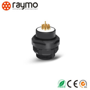 Raymo F Series D Panel Mounted Receptacle Waterproof Connector in Size 102 with 9 Pin Female Contacts pictures & photos