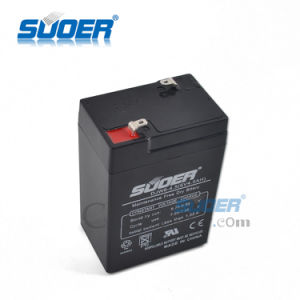 Suoer 2015 New Storage Battery 4.5A Solar Energy Storage Battery 6V Storage Battery with Ce&RoHS (00220219) pictures & photos