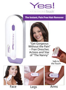 Finishing Touch Yes! Personal Face and Body Hair Remover-01 pictures & photos