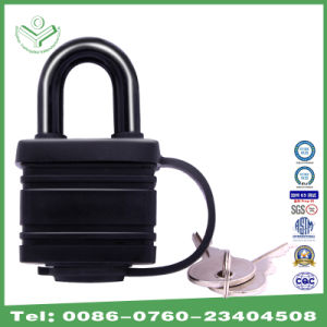 Waterproof Zinc Alloy Laminated Padlock with Thermoplastic Cover pictures & photos