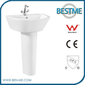 Ceramic Sanitary Ware Basin with Pedestal pictures & photos
