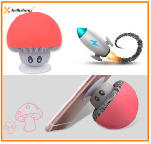 Suction Cup Wireless Mini Mushroom Stereo Bluetooth Speaker