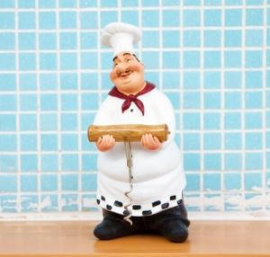 Home Decor Kitchen Bar Restaurant Ornament Figure Statue Chef Wine Bottle Opener pictures & photos