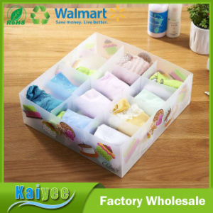 Custom Wholesale DIY Design Pink Plastic Shoe Storage Box pictures & photos