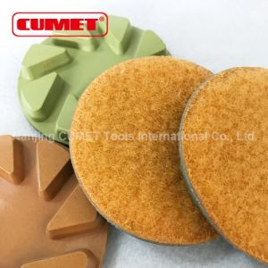 Diamond Hand Polishing Pads – Wet pictures & photos