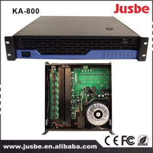 Jusbe Ka-800 8 Channel 120W/8ohm 200W/4ohm RS485 Interface Multimedia Professional Audio Loudspeaker Amplifier pictures & photos