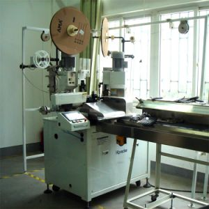 High Precision Thin Electrical Wire Terminal Crimping Tinning Machine pictures & photos