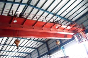 5+5t Double Beam Overhead Crane with Double Trolley pictures & photos