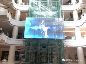 Hot Sale Transparent Rental Display for Show pictures & photos