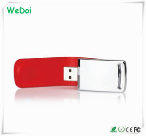 High Quality Leather USB Flash Drive with Low Cost (WY-L18) pictures & photos