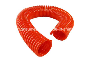 PU Coiled Water Hose, Air Tube (4*6mm*3.175m) pictures & photos