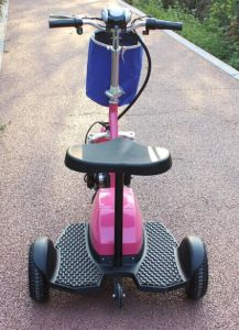New Design 48V 22ah Luxury Zappy 3 Wheel Electric Scooter 500W with Ce Certificate pictures & photos