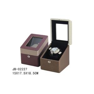 Mens Gift Watch Case Watch Winder Watch Display Wooden Box pictures & photos