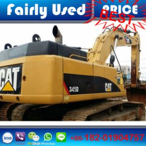 Original Japan Used Cat 345D Excavator of Used Digger Price pictures & photos