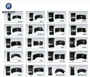 Heavy Duty Truck Brake Shoe 4515 for Volvo Truck pictures & photos